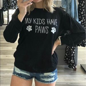 NEW Paws Sweatshirt